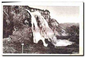 Old Postcard Baume les Messieurs Jura Cascade Tufs