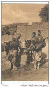 Africans with Hog-Skin Water Carriers, 00-10s