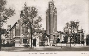 Chicago Theological Seminary Chicago Illinois IL  Church Religion c1947 Postcard