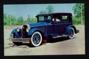 CT Kissel Brougham Car William Stuart MANCHESTER CONN Postcard Connecticut