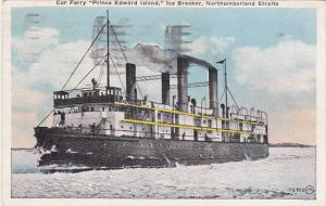 Canada Prince Edward Island Ice Breaker Car Ferry Northumberland Straits 1929