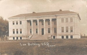 LP16  RPPC Vermillion University  South Dakota  Postcard Law Building