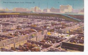 Illinois Chicago Union Stock Yards Cattle Pens
