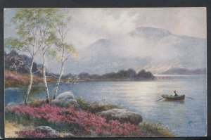 Scotland Postcard - Ben Lomond From Luss    RS14087