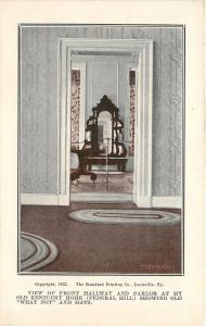 Bardstown Kentucky~Front Hallway~Parlor~Federal Hill~Mirrored What Not~1920s