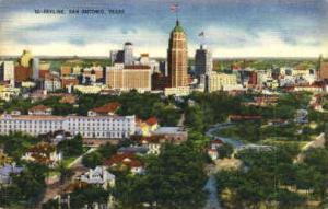 Skyline San Antonio TX 1950