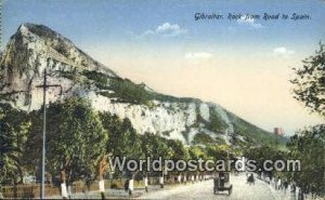 Rock from Road to Spain Gibralter 1934