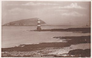 RP: Puffin Island , UK , 1910s ; Penmom LIGHTHOUSE ; TUCK