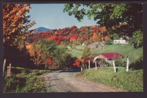 Covered Bridge,Montgomery,VT Postcard