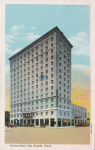 Texas San Angelo Hotel Cactus 1948 Curteich