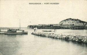 PC CPA PAPUA NEW GUINEA, HANUABADA, PORT MORESBY, Vintage Postcard (b19797)
