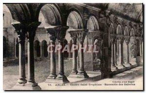 Postcard Old Marseille Cloitre Saint Trophime all galleries