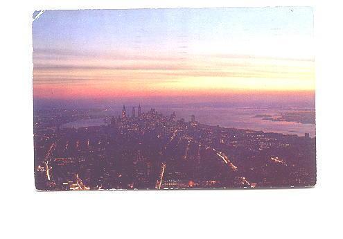 New York Harbor at Night, New York City, Photo A Devany