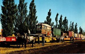 Wisconsin Baraboo Circus World Museum Circus Train