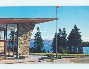 Pre-1980 ALEX GRAHAM BELL MUSEUM Baddeck On Cape Breton - Near Sydney NS d9457