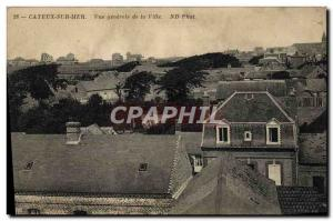 Old Postcard Cayeux Sur Mer Vue Generale De La Ville