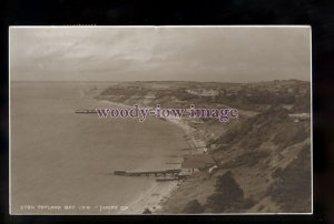 h2048 - Isle of Wight - Pier & Lifeboat at Totland Bay c1920s - Judges' Postcard