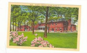 Atlantic Christian College, Winston-Salem, North Carolina,  30-40s