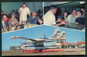 Original Lowake Inn near Rowena San Angelo Ballinger Texas chrome postcard