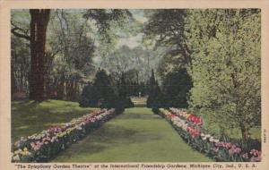 Indiana Michigan City The Symphony Garden Theatre At International Friendship...