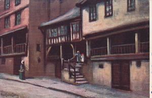 TUCK #1459 , CHESTER. Old Houses, Watergate , ENGLAND , 00-10s
