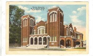 Wesley Memorial M. E. Church South, High Point, North Carolina, 00-10s