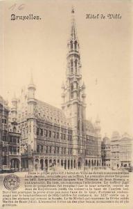 Belgium Brussels Hotel de Ville