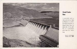 RP; Aerial View of Coulee Dam, Washington, 30-40s