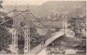 BETTY-Y-COED , Wales , 1930s ; Suspension Bridge