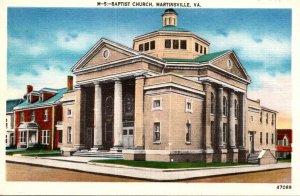 Virginia Martinsville Baptist Church