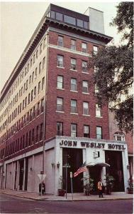 (2 cards) John Wesley Hotel - Savannah GA, Georgia