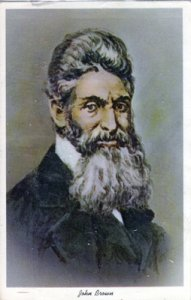 WATER COLOR of John Brown at the time he was tried, 1960s