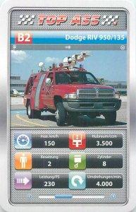 Ambulance/police/fireman cars 9x6cm tradecard C2 EMPL MAN RLFT 3000