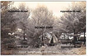 RPPC, Tents at Grooning Pines, Warrensburg NY
