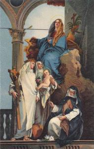 La Modonna in Trono e varie Sante, Tiepolo, Venezia, Italy, 10-20s