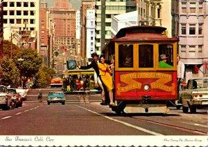California San Francisco Cable Car 1975
