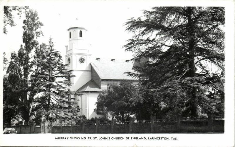 australia, LAUNCESTON, Tasmania, St. John's Church of England (1950s) Murray 29