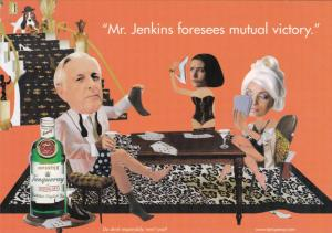 Advertising Tanqueray Gin Mr Jenkins Foresees Mutual Victory
