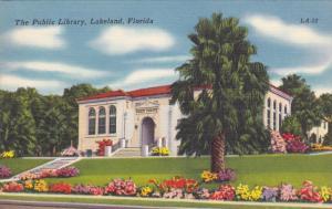 LAKELAND, Florida, PU-1964; The Public Library