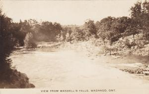 RP; WASHAGO, Ontario, Canada; View from Wasdell's Falls, 1910-20s