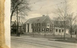 NY - Oneida. Old Ladies' Home, 1910    *RPPC