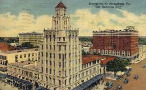 Downtown St Petersburg FL 1940