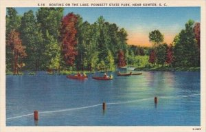 Boating On The Lake Poinisett State Park Sumtier South Carolina