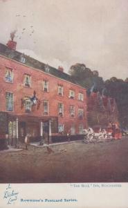 The Bull Inn Rochester Rowntrees Confectioners Old Postcard