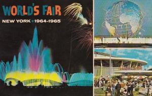 Fountain Of Planets Unisphere Night Scene Schaefer Center New York Worlds Fai...