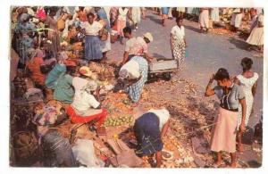 Market , Montego Bay , Jamaica, PU-1952