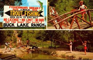 Indiana Angola Buck Lake Ranch Trout Fishing