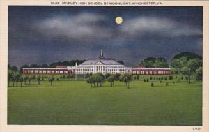 Virginia Winchester Handley High School By Moonlight