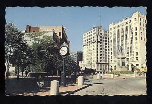 Portland, Maine/ME Postcard, Monument Square/Downtown, 1960'