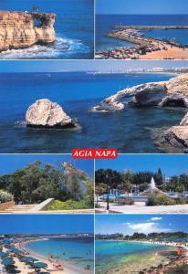Cyprus Postcard, Agia Napa, Multi View T2